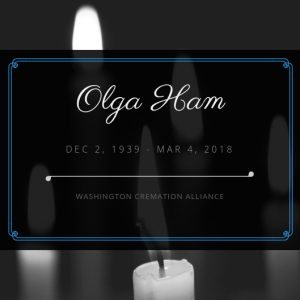 Olga Ham Obituary