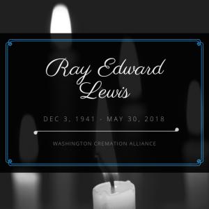 Ray Edward Lewis Obituary