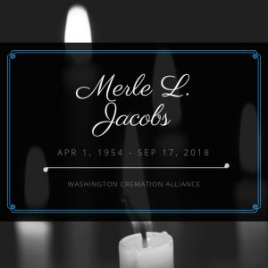 Merle L. Jacobs Obituary