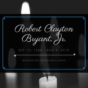 Robert Clayton Bryant Jr Obituary