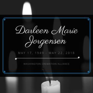 Darleen Marie Jorgensen Obituary