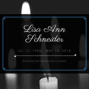 Lisa Ann Schneider Obituary