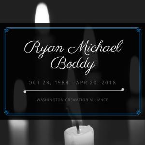 Ryan Michael Boddy Obituary