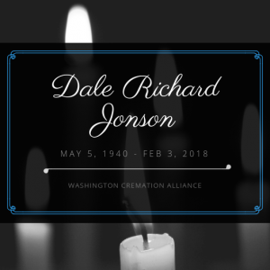 Dale Richard Jonson Obituary