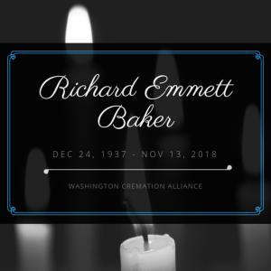 Richard E. Baker Obituary