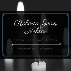 Roberta J. Nehler Obituary