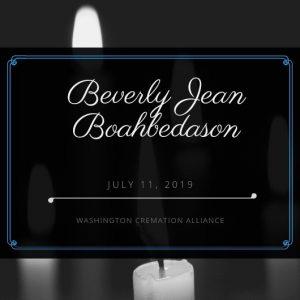 Beverly J. Boahbedason
