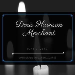 Doris Hanson Merchant