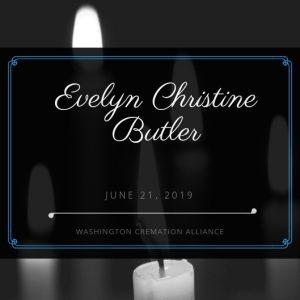 Evelyn Christine Butler