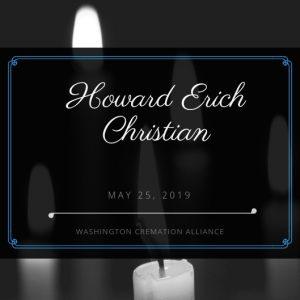 Howard Erich Christian