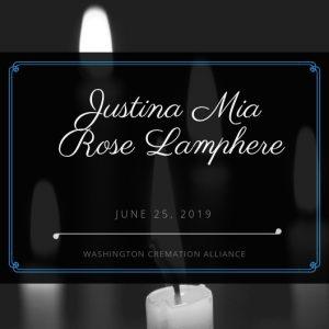 Justina Mia Rose Lamphere