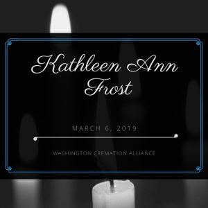Kathleen A. Frost