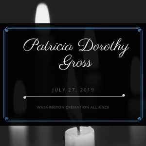Patricia Dorothy Gross