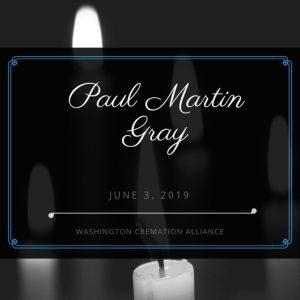 Paul Martin Gray