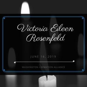 Victoria Eileen Rosenfeld